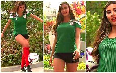 La hermosa Naomi Mondragón, la inspiración del Tri Sub-20 en el Mundial...