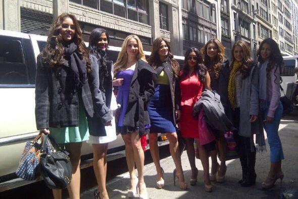 Las ocho finalistas viajaron a La Gran Manzana para llevarse los 10 mil...