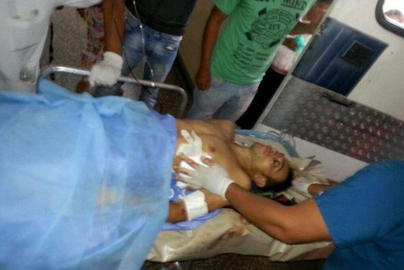 Algunos han llegado con heridas graves a los hospitales para ser atendidos.