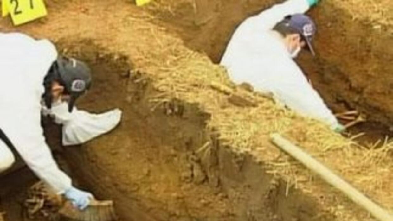 Dos mil 371 restos humanos no han podido ser identificados.