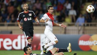 Moutinho le dio al Mònaco sus primero tres puntos en la Champions.