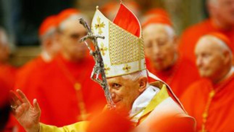 Benedicto XVI fue electo papa durante el Cónclave de 2005. En noviembre...