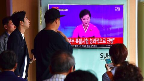 Corea del Norte confirma que ha realizado con éxito un nuevo ensayo nuclear