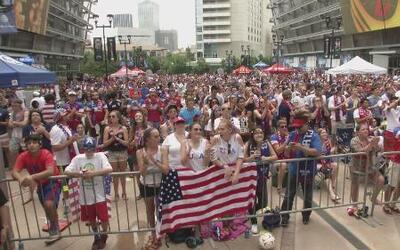 Pasión en Dallas por selección de USA