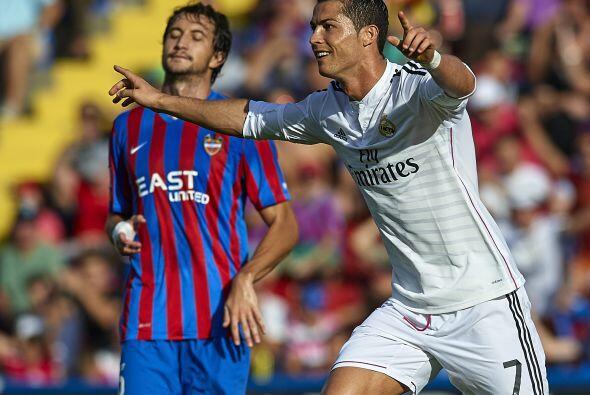 En la jornada 8 de la Liga el Real Madrid visitó al Levante y se llevó l...