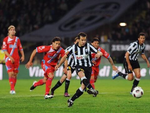 Juventus y Catania protagonizaron un duelo intenso. Comenzó ganan...