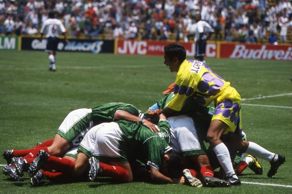 Historia de la maldición de Columbus: México vs Estados Unidos OK 1999 C...