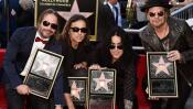 Maná recibe su estrella en Hollywood