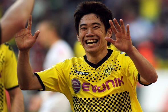 Aunque el japonés Shinji Kagawa ya estaba más que listo.