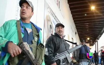 Dos muertos tras incursión de autodefensas en Michoacán