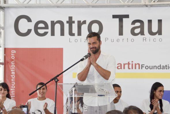 Desde el 2004 Ricky Martin comenzó su labor altruista y su proyecto ha i...