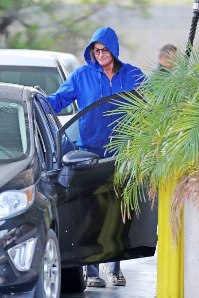 Bruce fue captado por los paparazzi en Los Ángeles.