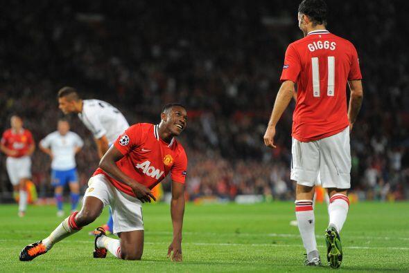 El conjunto inglés se fue al ataque en busca del empate.
