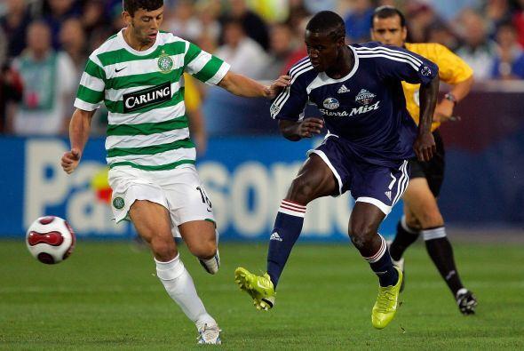 El Celtic Glasgow de Escocia fue el rival del juego de las estrellas del...