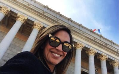 Karla Martinez vacaciones Francia