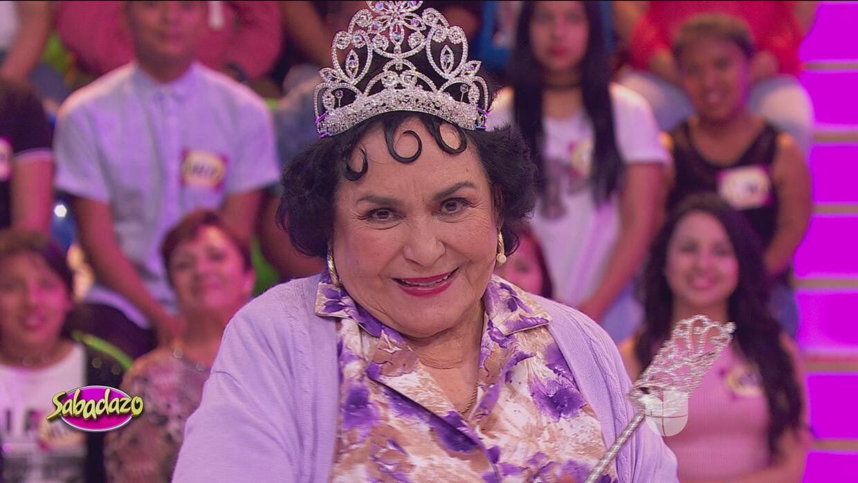 Carmen Salinas fue coronada como la reina de los memes