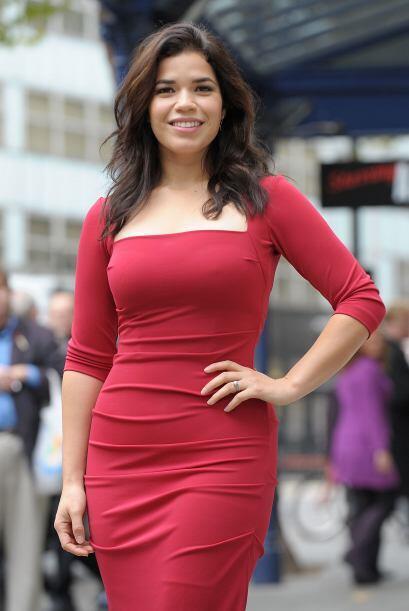 América Ferrera: Hija de padres hondureños, América ha sido nombrada com...
