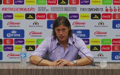 """Matías Almeyda: """"El sábado será otro partido, es un rival difícil"""""""