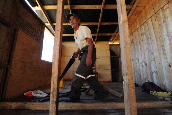 Nicolás Valenzuela, de la ONG Reconstruye, dijo que el proyecto d...