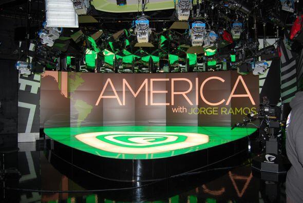 Junto con el lanzamiento de Fusion, salió al aire el prorgama 'América'...