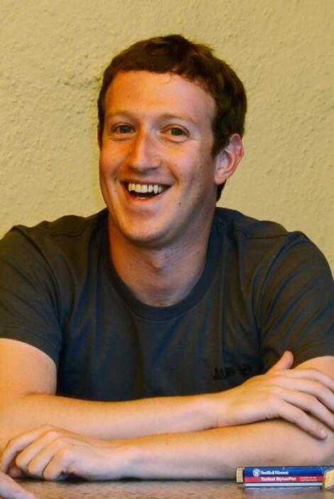 Quien quedó relegado al décimo lugar fue Mark Zuckerberg: con una fortun...