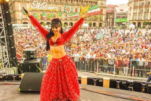Y qué tal esta costarricense, mexicana por adopción, Marib...