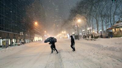 Neoyorquinos desafiaron la autoridad y salieron a las calles GettyImages...