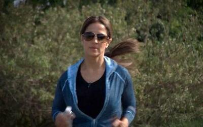 Jackie Guerrido nos muestra su lugar favorito para hacer ejercicios 'Fue...