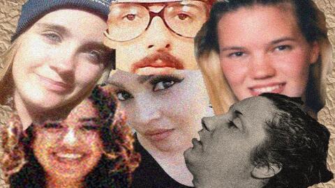 Los rostros de seis personas que cuya ubicación o identidad es un...