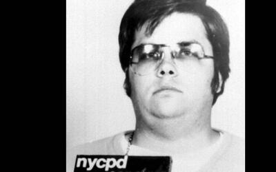 Marc David Chapman tras ser arrestado, hace 35 años.
