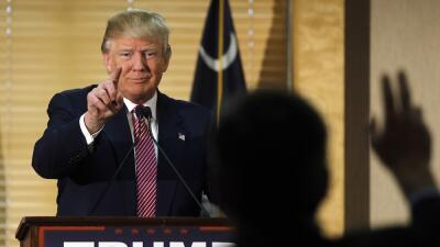 Trump atacó este lunes a Cruz y a Jeb Bush