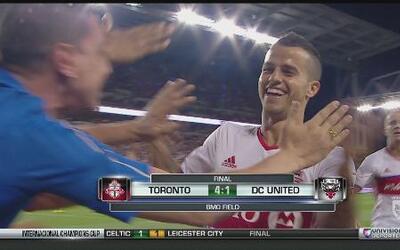 Giovinco y Toronto  no tuvieron piedad del DC United