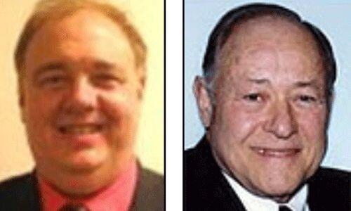 Los candidatos del Partido Objetivista: Tom Stevens y Alden Link. Este p...