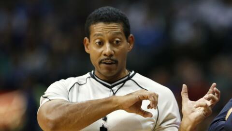 """Kennedy dijo que está """"orgulloso de ser un árbitro de la NBA y de ser gay""""."""