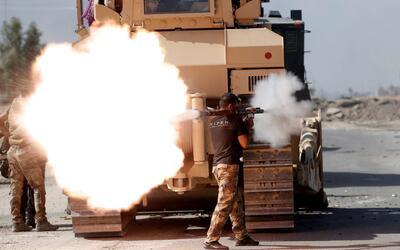Batalla contra ISIS en Mosul, la segunda ciudad más importante de...
