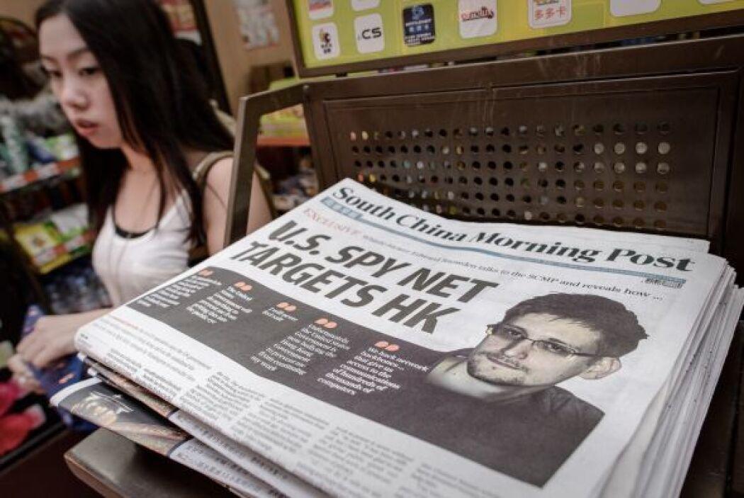 Snowden, por su parte, reaparece en una entrevista en el diario 'South C...