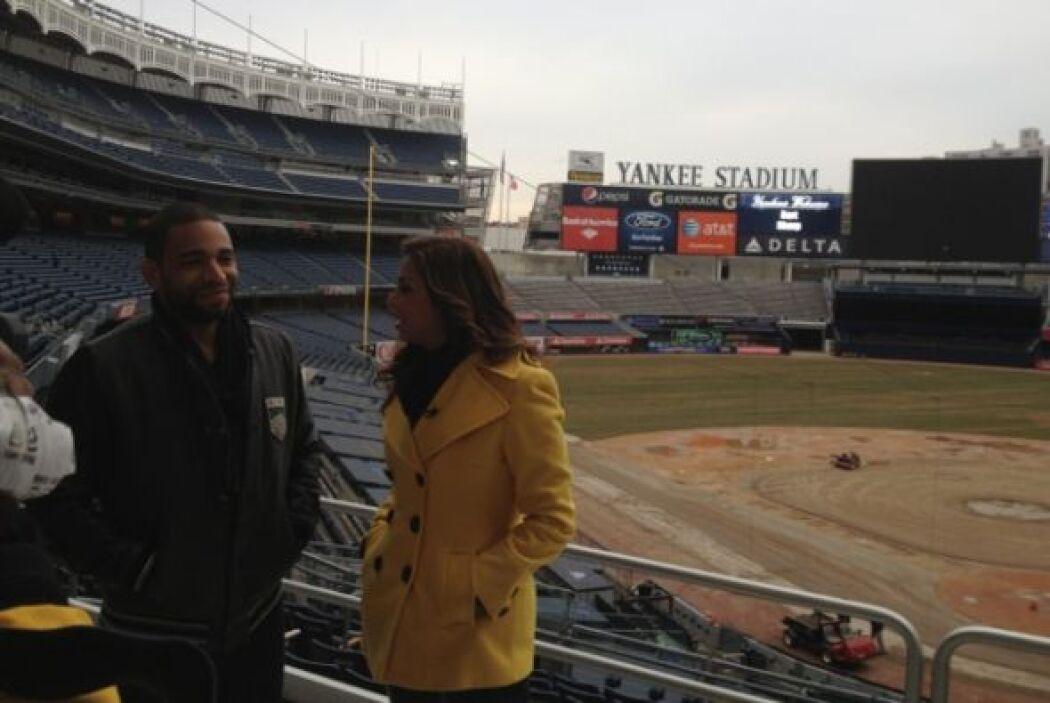 Henry Santos vivió y creció muy cerca del estadio de los Yankees y desde...