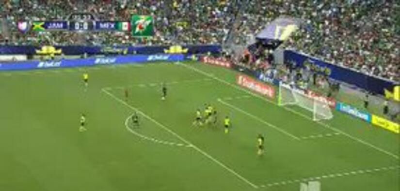 Highlights:México at Jamaica on July 26, 2015