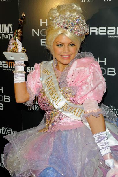 El año pasado lució como ganadora de concurso de belleza.