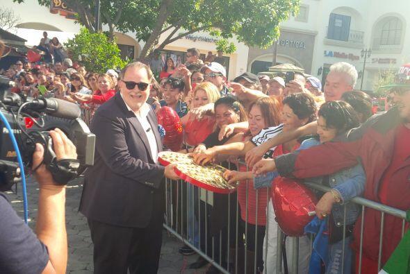 Raúl de Molina en Los Angeles.