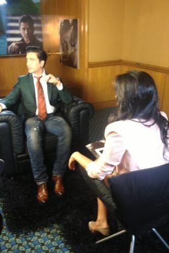 Mira las fotos de la entrevista exclusiva que Alejandro Fernández conced...