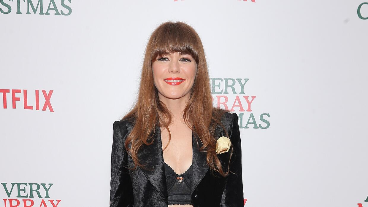 Jenny Lewis attends the 'A Very Murray Christmas'