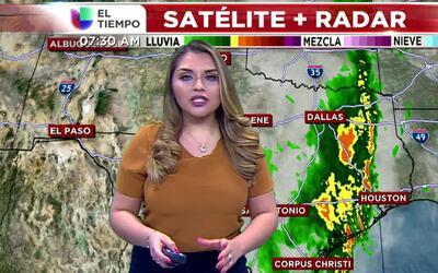 'Dallas en un Minuto': se alejan las lluvias del Metroplex