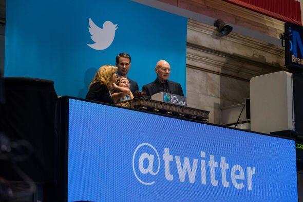Las acciones de la empresa de mensajes cortos Twitter se valuaron en más...
