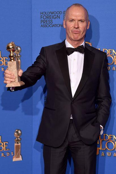 Michael Keaton ganó Mejor Actor en Comedia o Musical - Cine, por 'Birdman'.