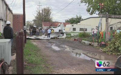Tormenta deja estragos en Smithville