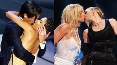 A los famosos les gusta besar al prójimo.