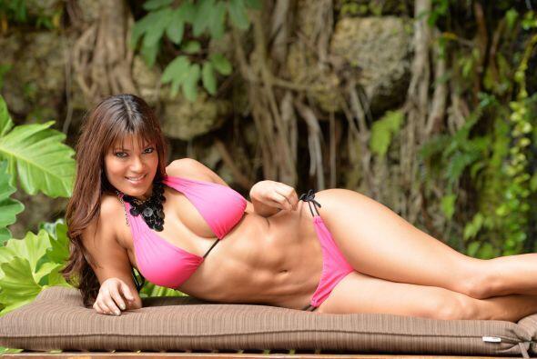 Ana María Ospina tiene un rostro angelical que encanta a todo el...