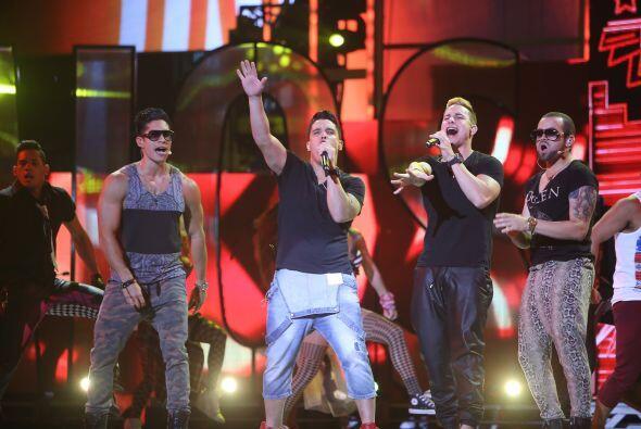 Entregaron toda su energía en el escenario.