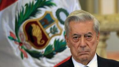 El Premio Nobel de la Paz, Mario Vargas Llosa.